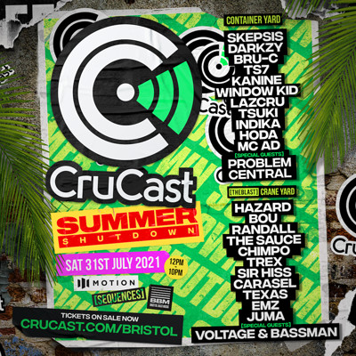 CruCast Summer Shutdown! Bristol at Motion in Bristol