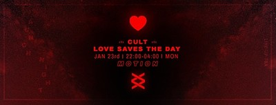 Cult Official Love Saves the Day Launch Party at Motion in Bristol