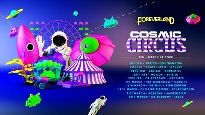Foreverland Bristol - Cosmic Circus Rave at Motion in Bristol
