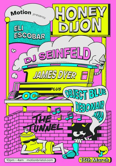 Honey Dijon, DJ Seinfeld, Eli Escobar & many more at Motion in Bristol