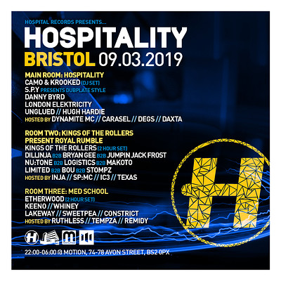 Hospitality Bristol 2019 at Motion in Bristol