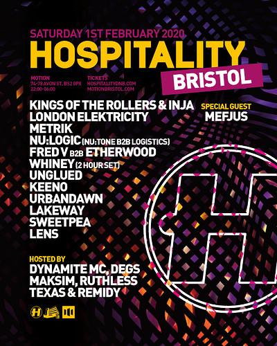 Hospitality Bristol 2020 at Motion in Bristol