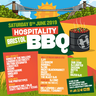 Hospitality Bristol BBQ at Motion in Bristol
