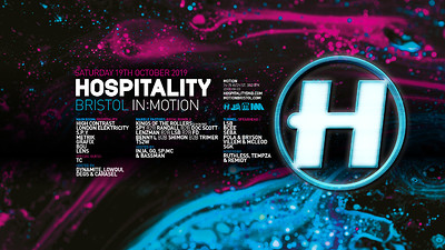 in:Motion 2019 / Hospitality Bristol at Motion in Bristol
