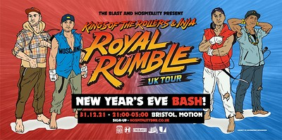 Kings of the Rollers x The Blast // NYE Bash! at Motion in Bristol
