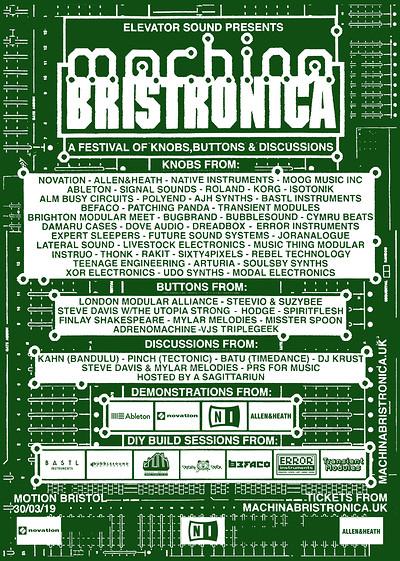 Machina Bristronica at Motion in Bristol