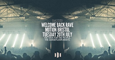 Motion Welcome Back Rave at Motion in Bristol