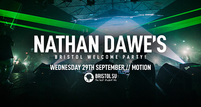 Nathan Dawe's Welcome Party! at Motion in Bristol