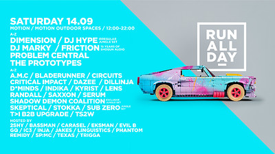 RUN ALL DAY - Weekend Two at Motion in Bristol