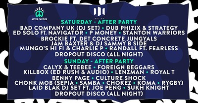 TOKYO WORLD - 2018 Sunday After Party at Motion in Bristol