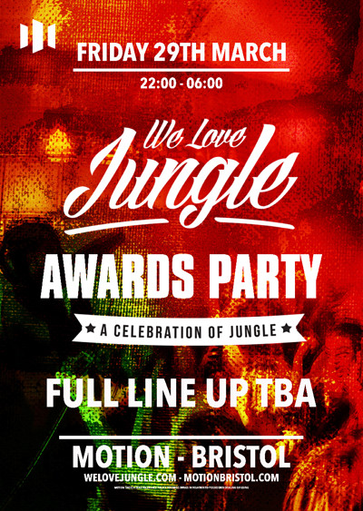 We Love Jungle Awards Party at Motion Bristol at Motion in Bristol