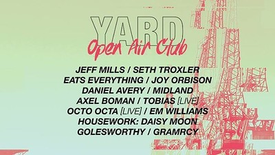 YARD: Open Air Club  at Motion in Bristol