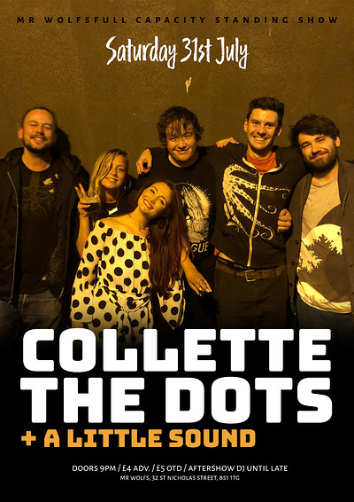 Collette The Dots  at Mr Wolfs in Bristol