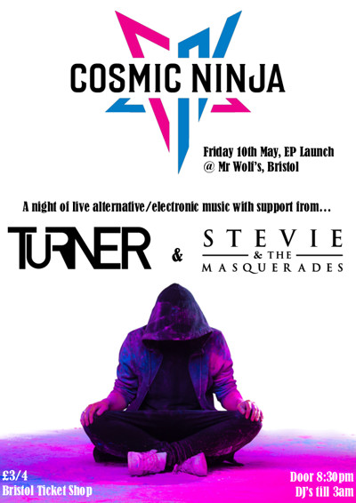 Cosmic Ninja EP Release at Mr Wolfs in Bristol