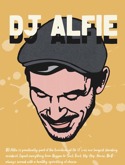 DJ Alfie  at Mr Wolfs in Bristol
