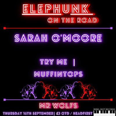 Elephunk on the Road at Mr Wolfs in Bristol