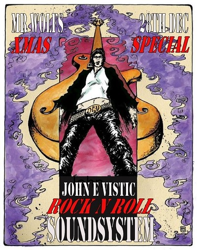 John E Vistic Rock N Roll Soundsystem plus DJs at Mr Wolfs in Bristol