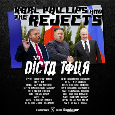 Karl Phillips and The Rejects + Support // Nino at Mr Wolfs in Bristol
