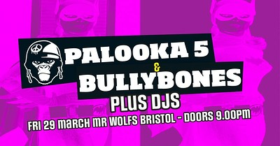Palooka 5 and Bullybones at Mr Wolfs! at Mr Wolfs in Bristol