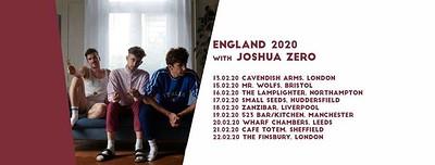 Soybomb / Luna Lake / Joshua Zero at Mr Wolfs in Bristol