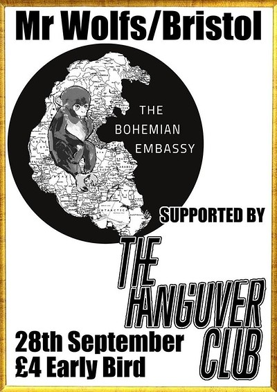 The Bohemian Embassy + Hangover Club // Asian Hawk at Mr Wolfs in Bristol