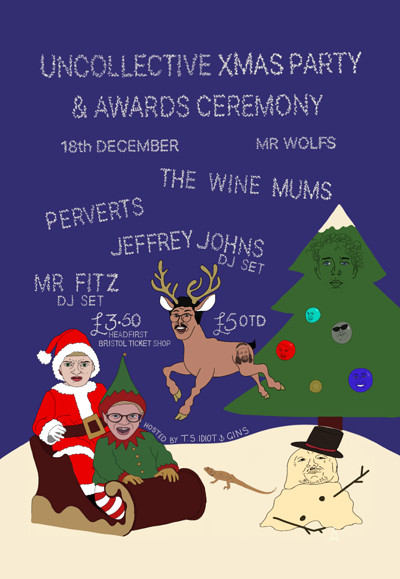 Uncollective Xmas Party & Awards Ceremony at Mr Wolfs in Bristol