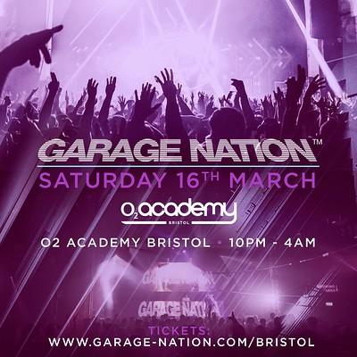Garage Nation at O2 Academy in Bristol