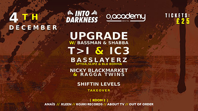 Into Darkness at O2 Academy in Bristol