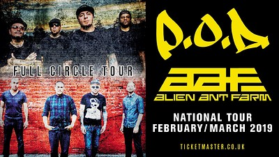 P.O.D. & Alien Ant Farm at O2 Academy in Bristol