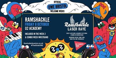 Ramshackle: Laser Rave at O2 Academy in Bristol