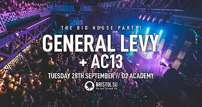 The Big House Party w/ General Levy & AC13 at O2 Academy in Bristol
