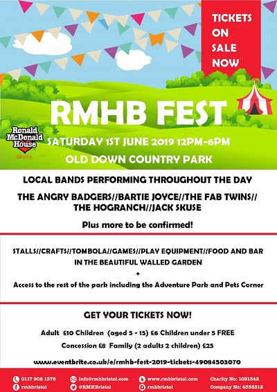 RMHBFest at Old Down County Park in Bristol