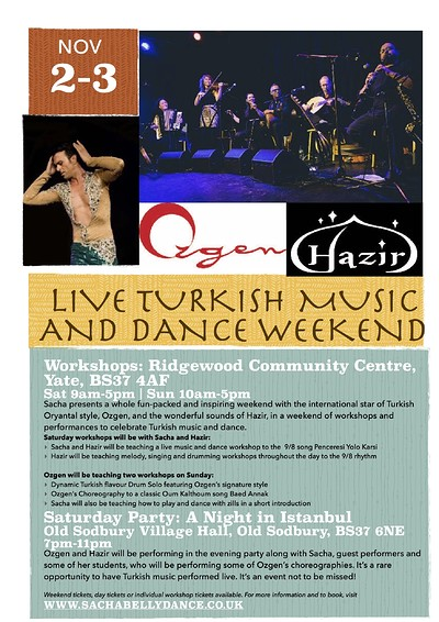 A Night in Istanbul: Turkish Music and Dance at Old Sodbury Village Hall in Bristol