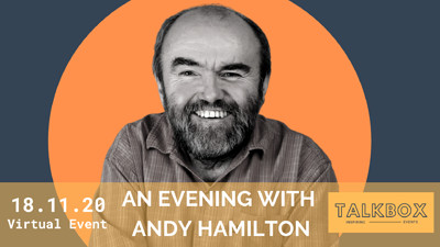 An Evening with Andy Hamilton  at Online Event  in Bristol