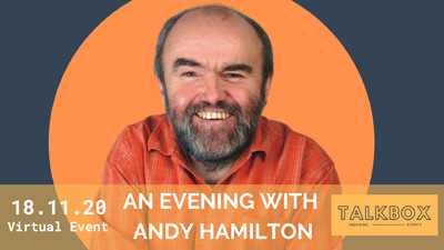 An Exclusive Evening with Andy Hamilton  at Online Event  in Bristol