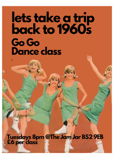 60s GO GO Dance  at Online in Bristol
