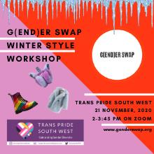 G(end)er Swap Winter Style Workshop at Online in Bristol