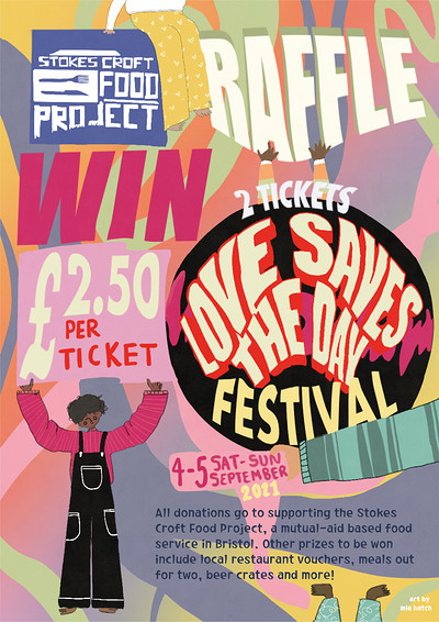 Stokes Croft Food Project Raffle at Online in Bristol