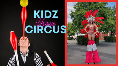 Fly me to the moon! Kidz Circus Experience at Outer Space Bristol in Bristol