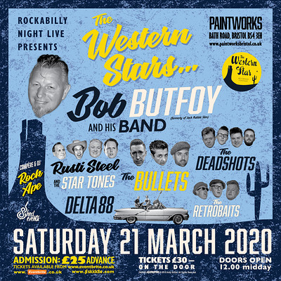The Western Stars All-Dayer at Paintworks Event Space in Bristol