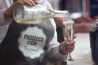The Prosecco and Gin Festival Bristol at Paintworks in Bristol