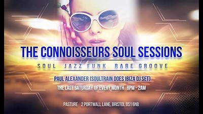 The Connoisseurs Soul Sessions at Pasture in Bristol