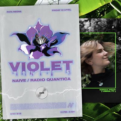 Cue Violet at Pata Negra  in Bristol