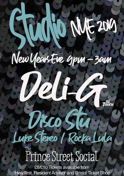 'STUDIO' New Years Eve Special at Prince Street Social in Bristol