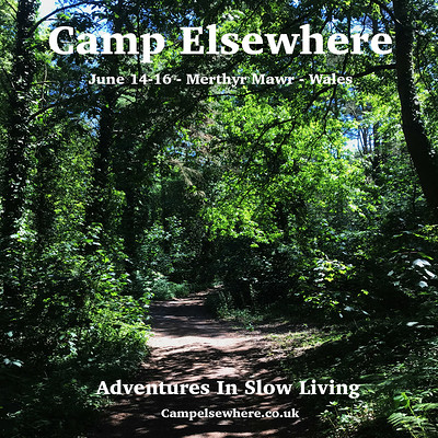 Camp Elsewhere 2019 at PRIVATE FOREST, MERTHYR MAWR, WALES in Bristol