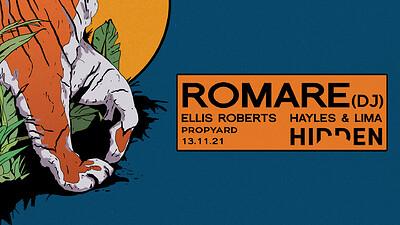 Hidden | Romare - VENUE CHANGED TO PROPYARD at Propyard in Bristol