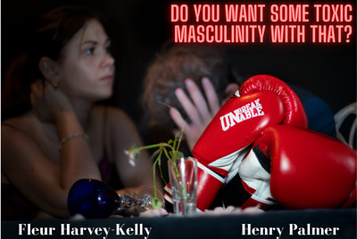 """""""Do you want some toxic masculity with that?""""  at PRSC in Bristol"""