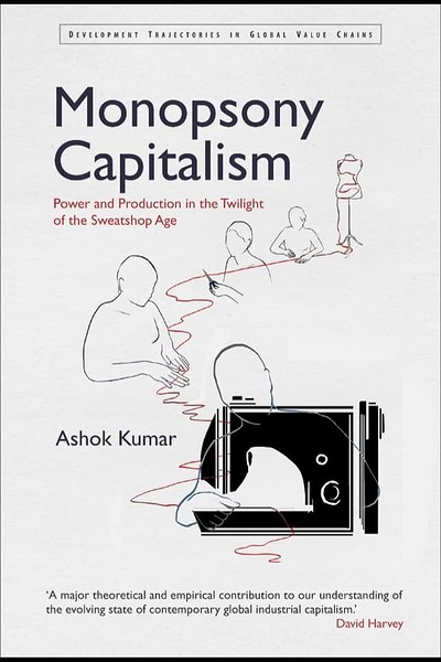 Monopsony Capitalism Book Launch w/ Ashok Kumar at PRSC in Bristol