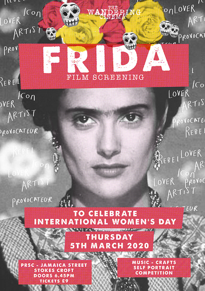 The Wandering Cinema presents Frida at PRSC in Bristol