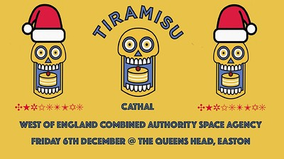 Tiramisu - Basement DJs takeover  at Queens Head Easton in Bristol